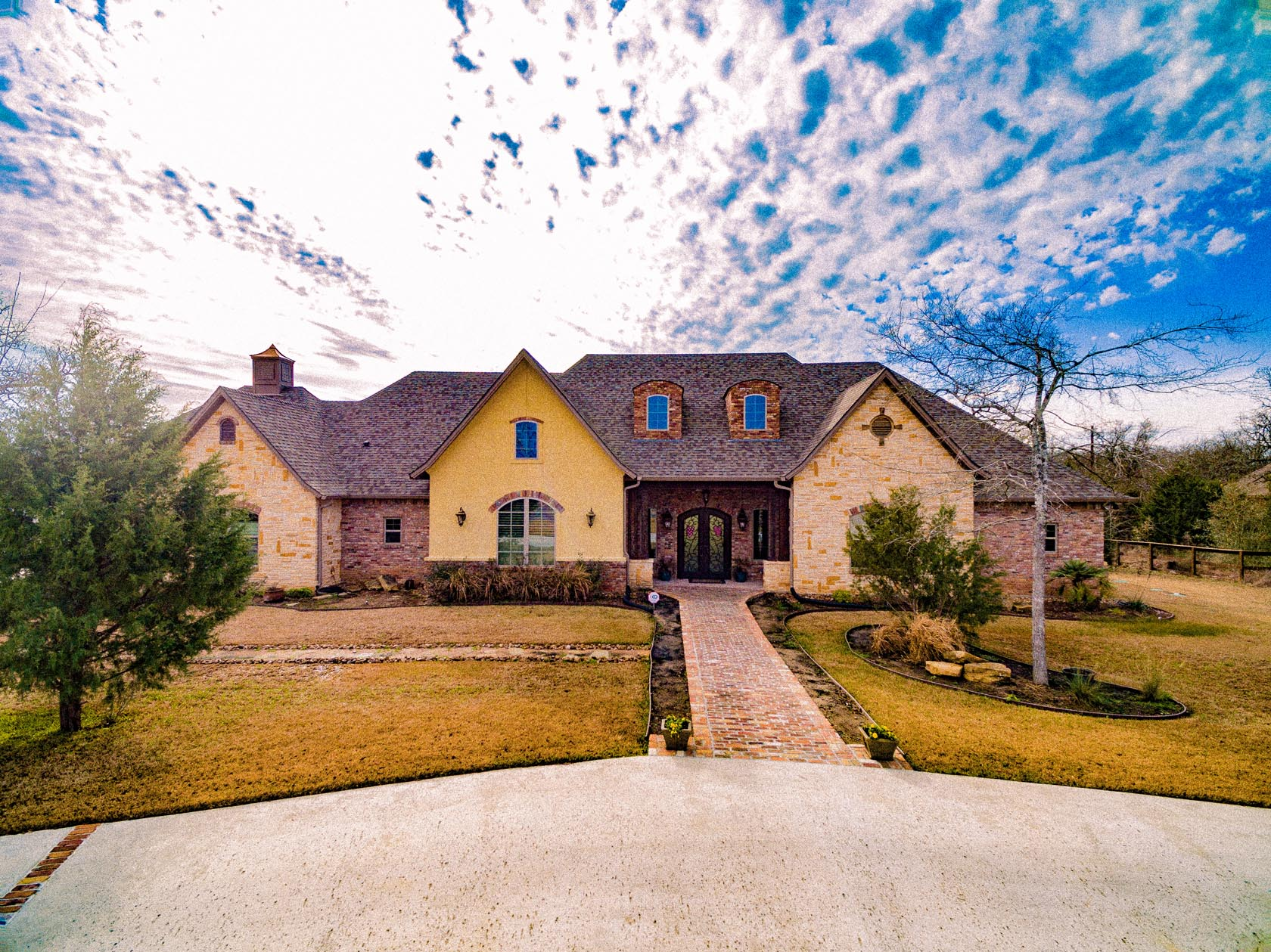 College station dream home for sale 17976 ranch house for Dream house for sale
