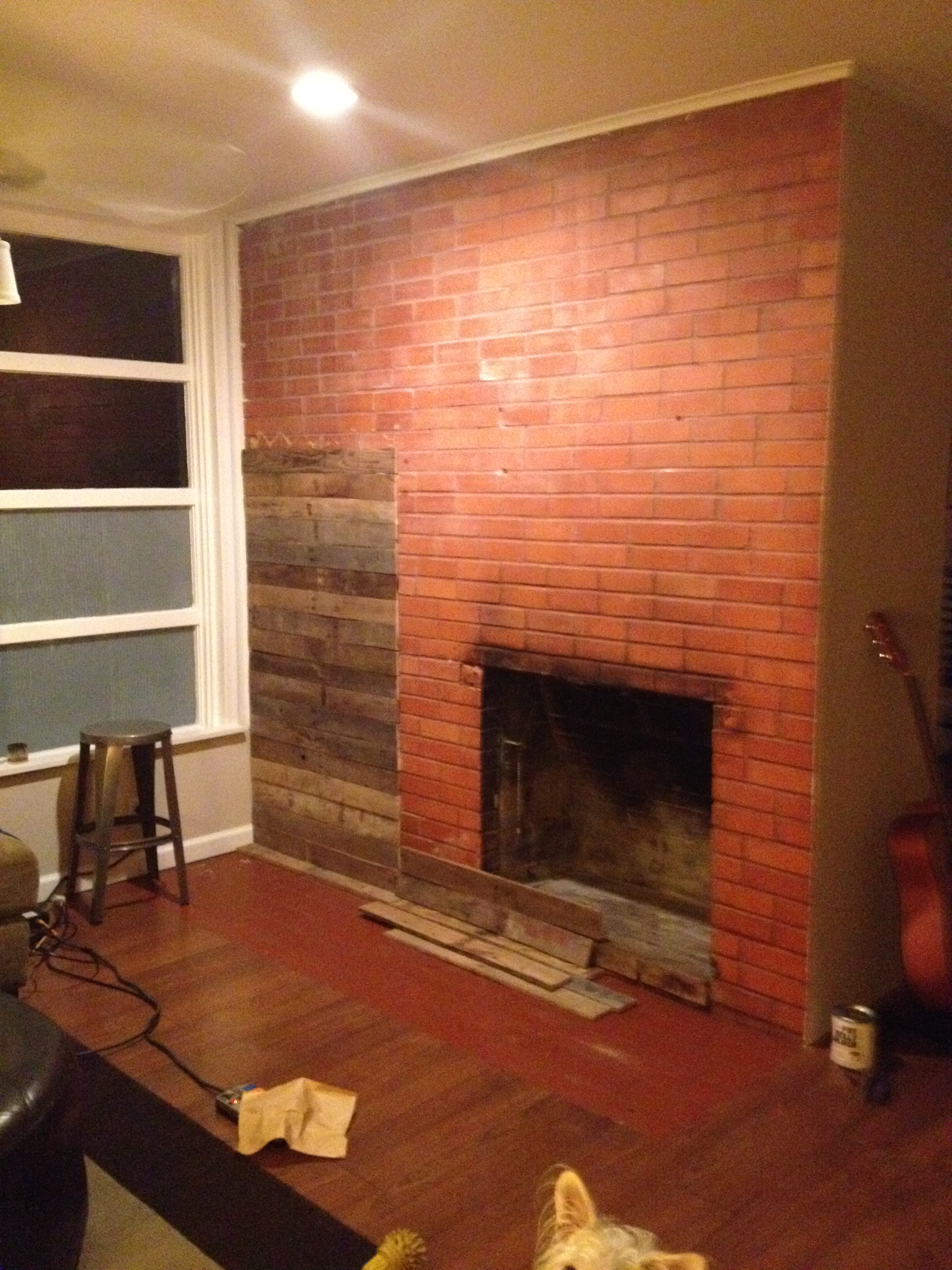 Renovation Realities Fireplace Remodel From Frumpy To